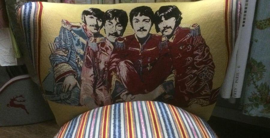 Beatles Kissen Wunder-Raumausstattung