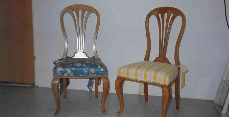 Stühle Beziehen zwei stühle neu beziehen joachim wunder raumausstattung